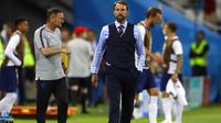 Pelatih Timnas Inggris, Gareth Southgate. (AP Photo/Alastair Grant)