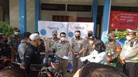 SCTV menggelar program vaksinasi COVID-19 yang dihadiri langsung oleh Wagub DKI Jakarta Ahmad Riza Patria