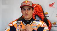 Marc Marquez mulai mewaspadai potensi rekannya Jorge Lorenzo di MotoGP Jerez (Gabriel Buoys/AFP)