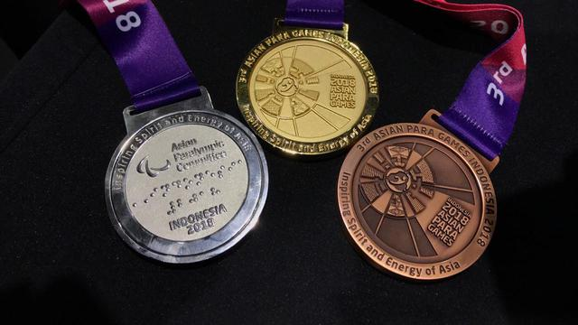 Asian Para Games 2018 medals. Image: Liputan6.com