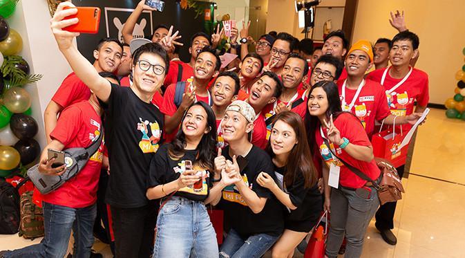 Gelaran Mi Pop 2018 yang diadakan di Yogyakarta. Foto: Xiaomi