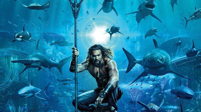 Poster film Aquaman. (Warner Bros)