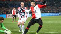 Robin van Persie mengantarkan Feyenoord ke laga final Piala KNVB. (doc. Feyenoord)