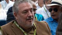Fidel Ángel Castro Díaz-Balart atau akrab disapa Fidelo meninggal hari ini, Jumat (2/2/2018) karena depresi berat. (AFP)