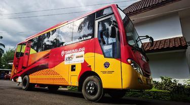 Teman Bus dari Kemenhub Siap Layani Perjalanan Warga Palembang Secara Gratis