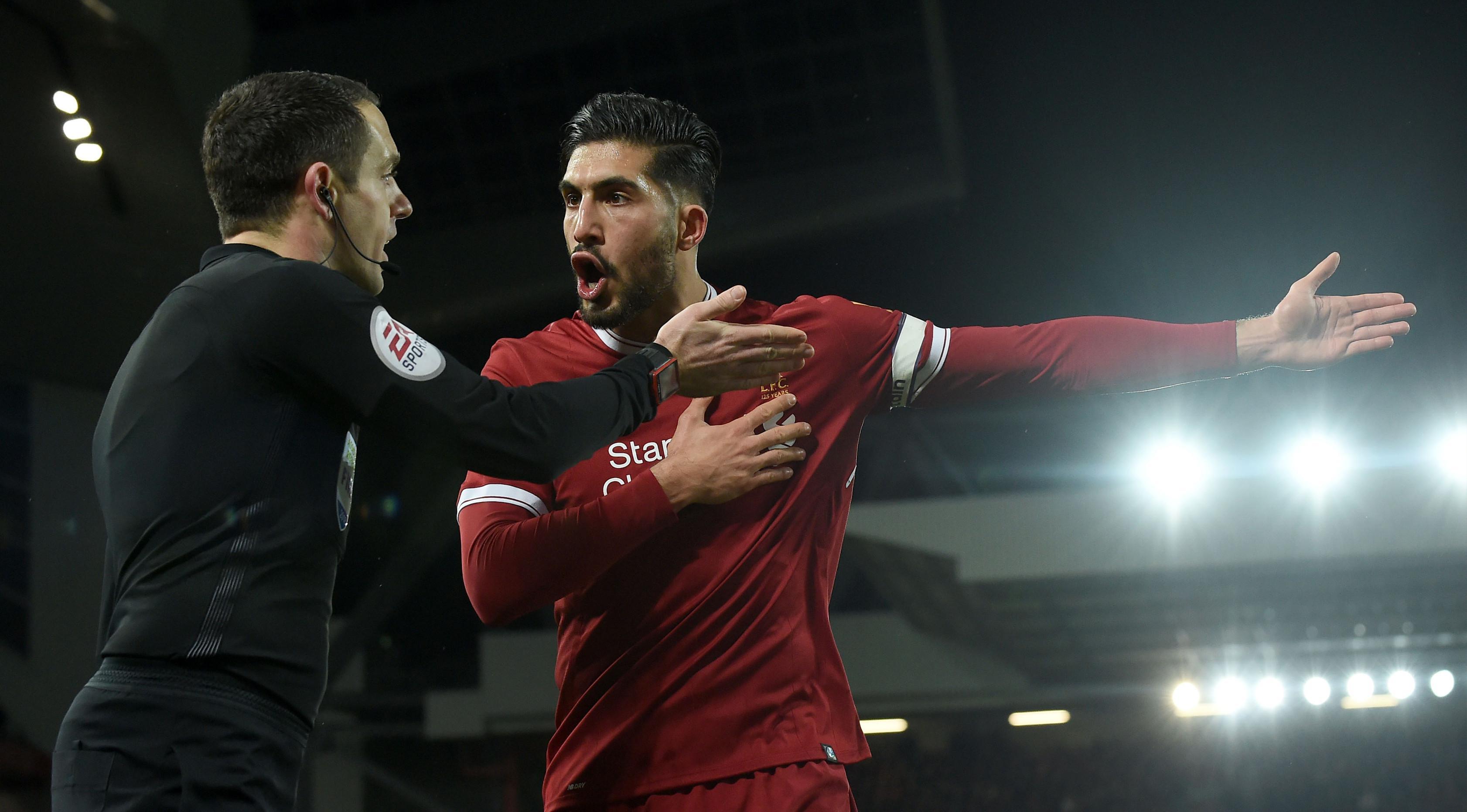 Gelandang Liverpool Emre Can (AFP/Paul Ellis)