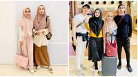 Momen Kedekatan Medina Zein dan Zaskia Sungkar (sumber:Instagram/medinazein)