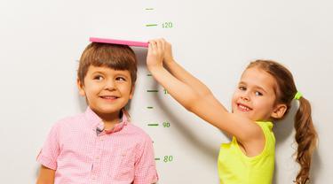 Tinggi Badan Anak (sumber: iStockphoto)