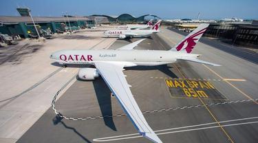 Qatar Airways Jadi Maskapai Pertama yang Terapkan Aturan Vaksinasi Covid-19 Penuh