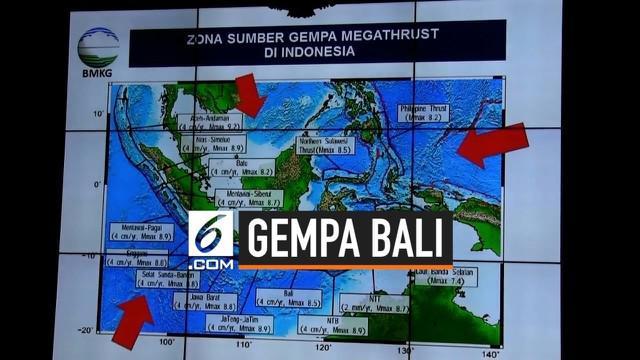 Gempa besar Magnitudo 5,8 di Bali terasa hingga kawasan luar pulau Bali. BMKG mencatat gempa tersebut diikuti 9 kali aktivitas gempa susulan.