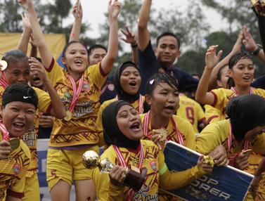 FOTO: Kalahkan Bangka Belitung, Sumatra Selatan Juara Piala Pertiwi