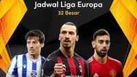 Ilustrasi - 32 Besar Liga Europa (Bola.com/Adreanus Titus)