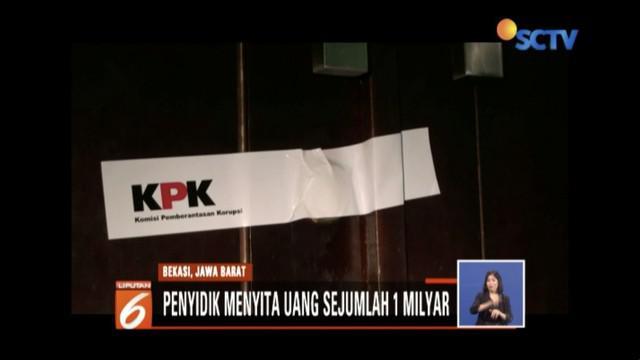 10 karyawan Dinas PUPR Kabupaten Bekasi terkena operasi tangkap tangan KPK terkait perizinan properti.