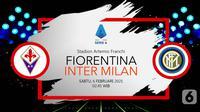 Fiorentina vs Inter Milan(Liputan6.com/Abdillah)