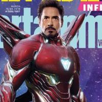 Tampilan baru Iron Man di film Avengers: Infinity War. foto: Entertanment Weekly