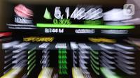 Layar informasi pergerakan harga saham di Gedung BEI, Jakarta, Rabu (14/10/2020). Pada prapembukaan perdagangan Rabu (14/10/2020), IHSG naik tipis 2,09 poin atau 0,04 persen ke level 5.134,66. (Liputan6.com/Angga Yuniar)