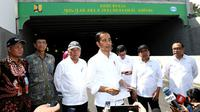 Presiden Joko Widodo atau Jokowi di Yogyakarta, Jumat (31/1/2020). (foto: Biro Pers Setpres)