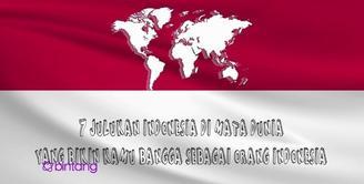 7 Julukan Indonesia Dimata Dunia.