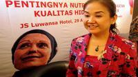 Ellen Martini, penyintas kanker payudara yang aktif di Yayasan Kanker Indonesia. (Foto: Liputan6.com/Fitri Haryanti Harsono)