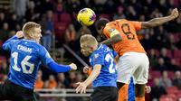 Duel Timnas Belanda vs Timnas Estonia di Johan Cruijff Arena, Amsterdam, Rabu dini hari WIB. (20/11/2019), dalam laga penyisihan Grup C kualifikasi Piala Eropa 2020. (AFP/ANP/Koen Van Weel)