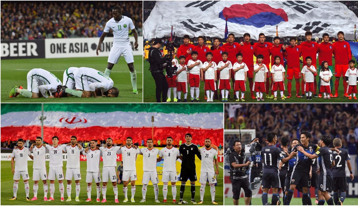 FOTO 4 Negara Asia Memastikan Diri Lolos Ke Piala Dunia