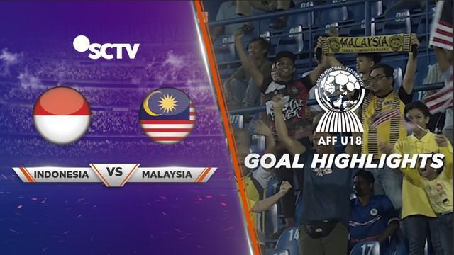 Berita video gol-gol yang tercipta pada laga Timnas Indonesia U-18 melawan Malaysia U-18 di Piala AFF U-18 2019, Sabtu (17/8/2019).