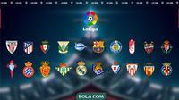 La Liga - Klasemen (Bola.com/Adreanus Titus)