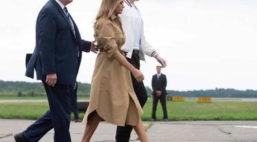 Donald dan Melania Trump (Jim Watson / AFPSource)