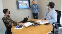 President Director & CEO Cigna Indonesia Phil Reynolds menjelaskan survei skor Kesejahteraan 360° Cigna.