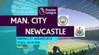 Premier League_Manchester City vs Newcastle United (Bola.com/Adreanus Titus)