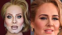 Alexis Stone bertransformasi menjadi Adele (Dok.Instagram/@alexisstone/https://www.instagram.com/p/BpH75ZxH1A3/?utm_source=ig_embed&utm_campaign=embed_video_watch_again/Komarudin)
