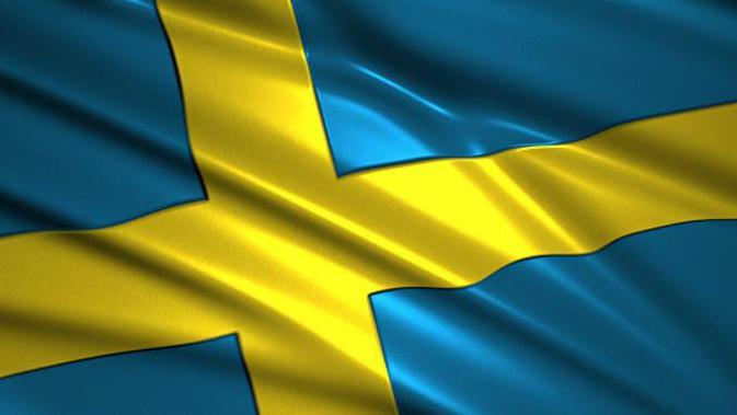Ilustrasi Bendera Swedia (iStockphoto via Google Images)