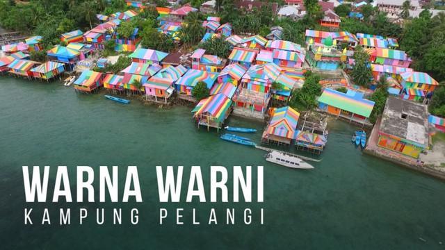 Kampung Pelangi berada di Tual, Maluku Tenggara.