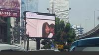 Aparat kepolisian menjemput operator videotron yang menghebohkan Jakarta pada Jumat (30/9) lalu. (Via: istimewa)