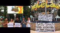 Penampakan Jungleland Bogor Selama Covid-19. (Sumber: TikTok/ @angelena99)
