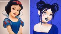 Ilustrasi Disney (Sumber: TikTok/alexiswithoutan_a)