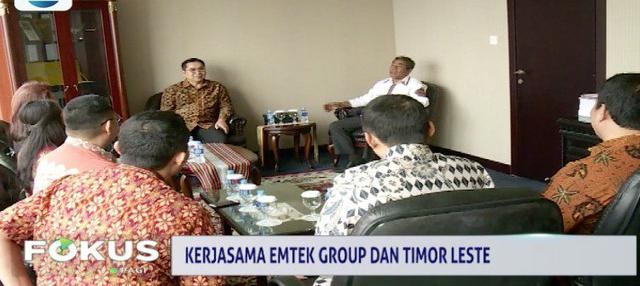 Emtek Group jalin kerjasama di bidang penyiaran dengan Kedutaan Besar Timor Leste untuk Indonesia.