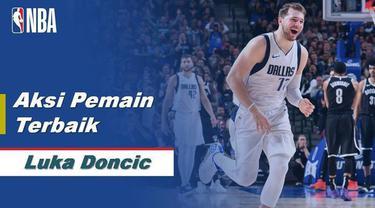 Luka Doncic Jadi Bintang Saat Dallas Mavericks Kalahkan Brooklyn Nets 123-111
