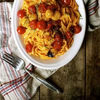 Resep Spaghetti Tomat Bengkak yang Gak Bikin Tubuhmu Membengkak