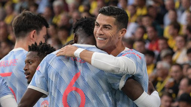 Cristiano Ronaldo, Manchester United, Liga Champions