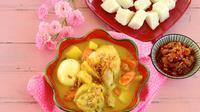 Opor Ayam Telur dan Tahu (sumber: iStockphoto)