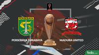 Piala Presiden 2019 Hasil Undian Semifinal Persebaya Surabaya Vs Madura United (Bola.com/Adreanus Titus)