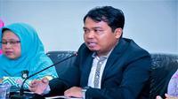 Ketua KPAI Susanto menyampaikan duka cita wafatnya Sutopo Purwo Nugroho. (Dok KPAI)