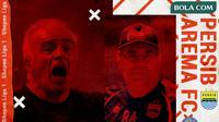 Shopee Liga 1 2020: Arema FC vs Persib Bandung. (Bola.com/Dody Iryawan)