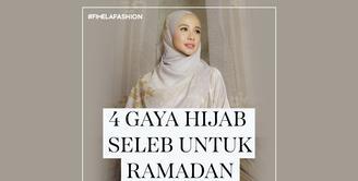 Inspirasi Gaya Hijab Seleb untuk Ramadan 2021