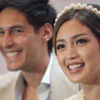 Prescon Lamaran Jessica Iskandar dan Richard Kyle.(Nurwahyunan/Fimela.com)