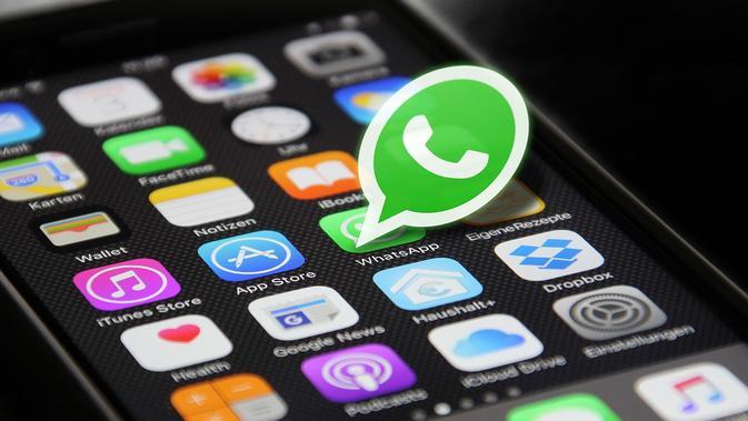 Membuat status Boomerang di WhatsApp