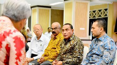 Pertemuan membahas penanganan warga Sumut yang terdampak kerusuhan di Wamena, Papua