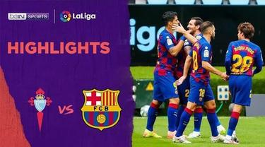 Berita Video Highlights La Liga, Barcelona Ditahan Imbang Celta Vigo 2-2