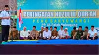 Peringatan Nuzulul Quran di Banyuwangi.